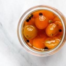 Quick Pickled Kumquats