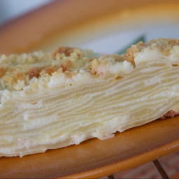Quick puff pastry pie with apples