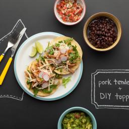 Quick Pulled Pork Tostadas