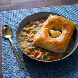 Quick Rotisserie Chicken Pot Pies