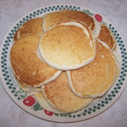 Easy Sourdough Pancakes