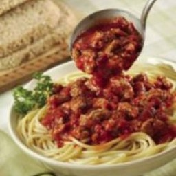 Quick Spaghetti with Meat Sauce