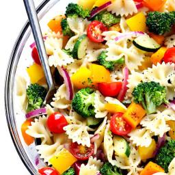 Quick Vegan Pasta Salad