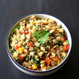 Quick Vegan Southwestern Couscous