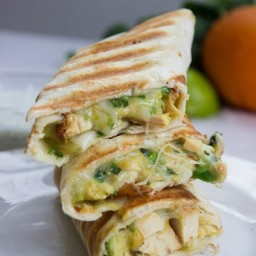 Quick and Easy Chicken Burritos