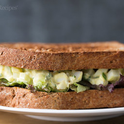 Quick and Easy Egg Salad Sandwich