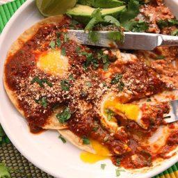 Quick and Easy Huevos Rancheros With Tomato-Chili Salsa