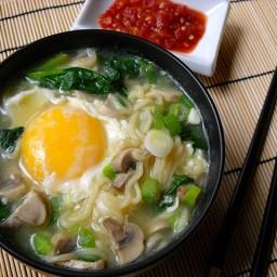 quick ramen bowl