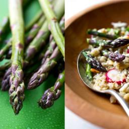 Quinoa and Asparagus Salad