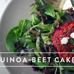 Quinoa-Beet Cakes