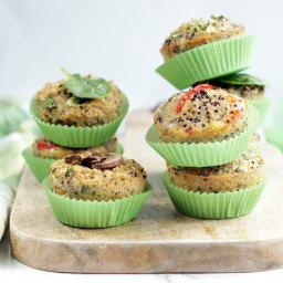 Quinoa Breakfast Muffins