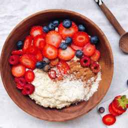 Quinoa Cashew Pudding (or healthy rice pudding without the rice)