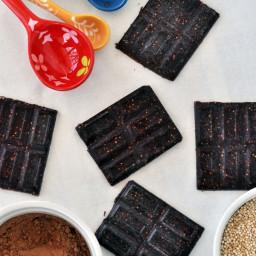Quinoa Crunch Chocolate Bars