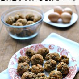 Quinoa Meatballs Baby Finger Food