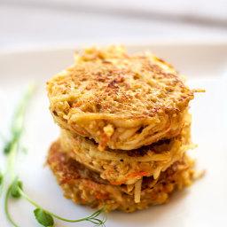 Quinoa Potato Pancakes
