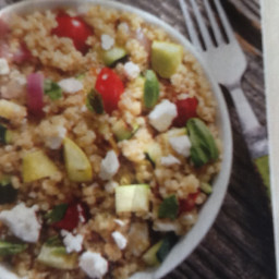 Quinoa w/Grilled Vegetables & Feta