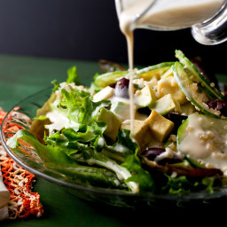 Quinoa Salad With Avocado and Kalamata Olives