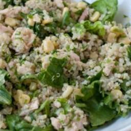 quinoa, tuna and corn salad