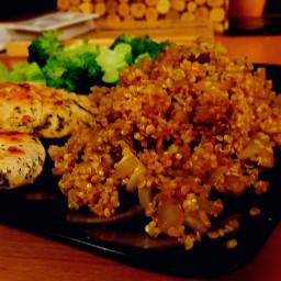 Quinoa w/ Onion & Celery