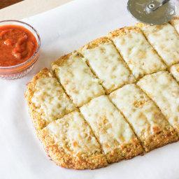 Quinoa Crust for Pizza or Cheesy Garlic 'Bread' Recipe