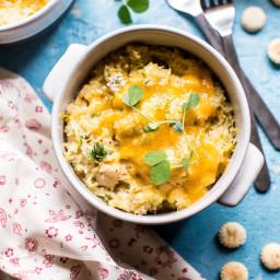 Souper Cheesy Chicken Zucchini Rice