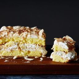 World's Best Cake with Banana & Coconut