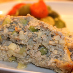 Rachael Ray's Turkey and Stuffing Meatloaf