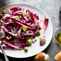 Radicchio Salad With Anchovy Vinaigrette