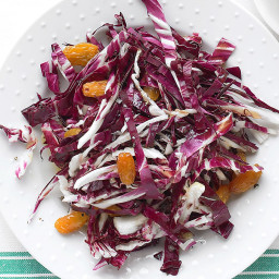 Radicchio Salad with Golden Raisins