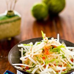 Radish Salad with Japanese Plum Dressing