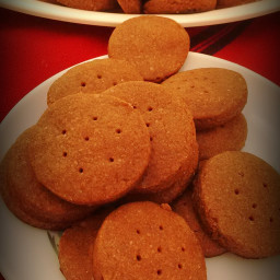 Ragi, Whole Wheat and Chocolate Butter Cookies