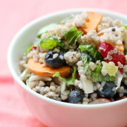 Rainbow Buckwheat Salad
