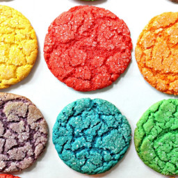 Rainbow Cake Mix Cookies for Military Care Package #23