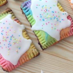 Rainbow Pop Tarts