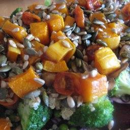 Rainbow Superfood Salad with Mackrel