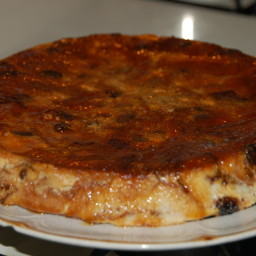 Raisin Bread Flan