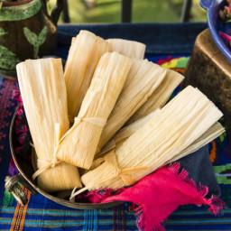 Rajas con Queso Mini Tamales