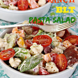 Ranch BLT Pasta Salad