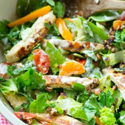 Ranch Grilled Chicken Chopped Salad