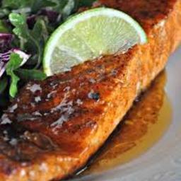 Randi's Glazed Salmon (seafood, healthy, quick)*
