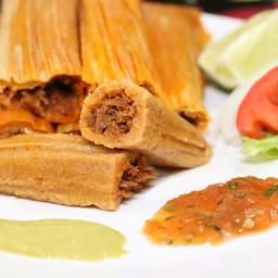 Randi's Red Chile Pork Tamales * (Mexican)