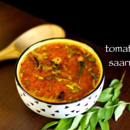 rasam recipe | tomato rasam recipe | easy tomato saaru recipe
