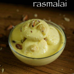 rasmalai recipe with milk powder