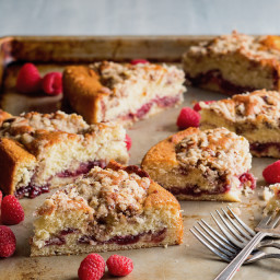Raspberry Buttermilk Crumb Cake