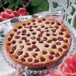 Raspberry-Crème Fraîche Tart