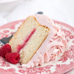 Raspberry Jam Cake