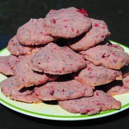 Raspberry Poppy Seed Cookies