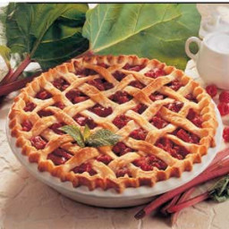 Raspberry Rhubarb Pie Recipe