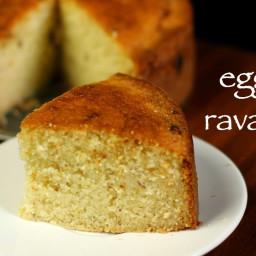 rava cake recipe | semolina cake recipe | suji cake or sooji cake