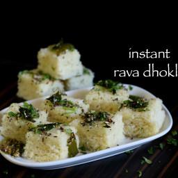 rava dhokla recipe | instant sooji dhokla recipe | suji ka dhokla